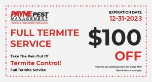 Full Termite Service